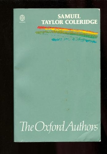 9780192813831: Samuel Taylor Coleridge.