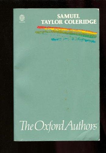 9780192813831: Samuel Taylor Coleridge (The Oxford Authors)