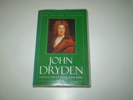 Works (Oxford Authors): John Dryden