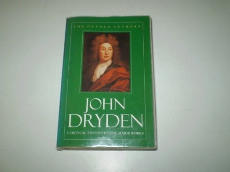 9780192814029: John Dryden (Oxford Authors)
