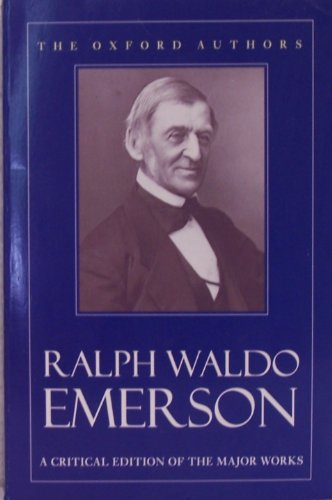 9780192814371: Ralph Waldo Emerson (The Oxford Authors)