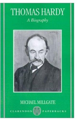 9780192814722: Thomas Hardy: A Biography (Oxford Paperbacks)