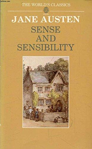 9780192815019: Sense and Sensibility (The World's Classics)