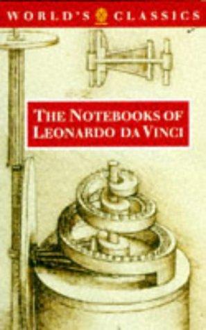 9780192815385: The Notebooks of Leonardo da Vinci (The World's Classics)