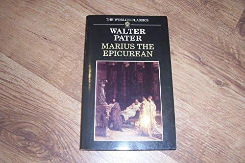 9780192817051: Marius the Epicurean (The World's Classics)