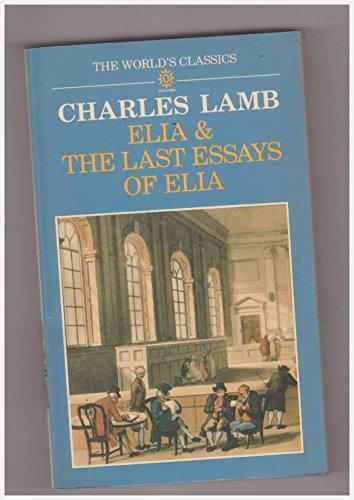 essays of elia by charles lamb abebooks elia and the last essays of elia charles lamb