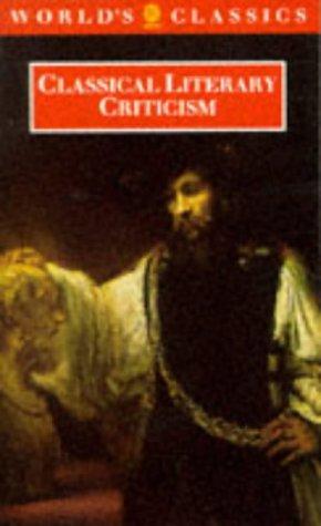 9780192818300: Classical Literary Criticism (The World's Classics)