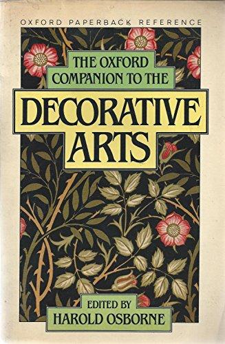 9780192818638: The Oxford Companion to the Decorative Arts (Oxford Quick Reference)