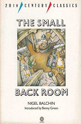 9780192818751: The Small Back Room (Twentieth Century Classics)