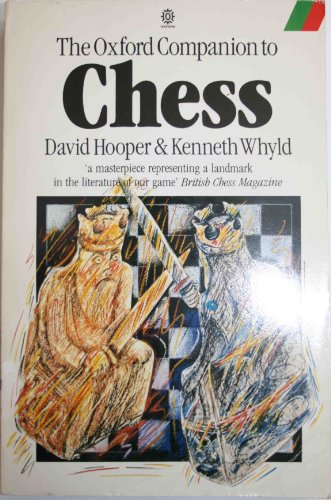 9780192819864: The Oxford Companion to Chess