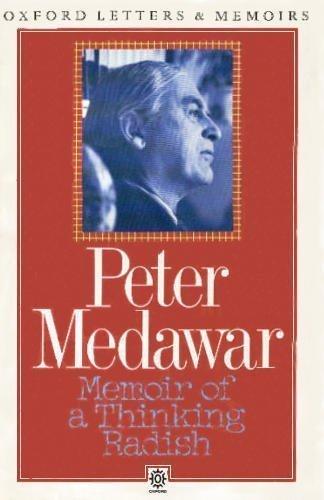 9780192820839: Memoir of a Thinking Radish: An Autobiography (Oxford Letters & Memoirs)