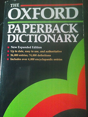 9780192821171: The Oxford Paperback Dictionary (Oxford Paperback Reference)