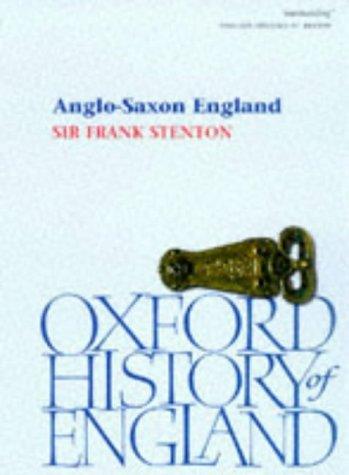 9780192822376: Anglo-Saxon England (Oxford History of England)