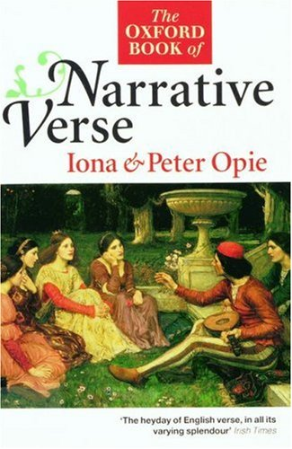 9780192822437: The Oxford Book of Narrative Verse (Oxford Books of Verse)