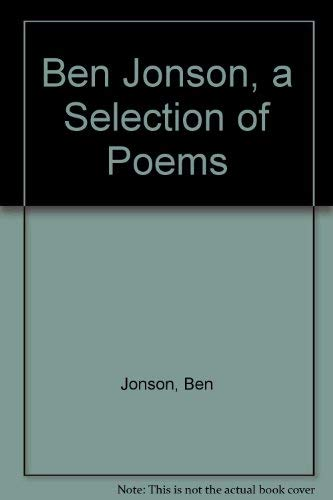 9780192823014: Ben Jonson (Oxford Poetry Library)