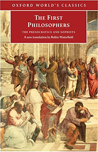 9780192824547: The First Philosophers: The Presocratics and Sophists