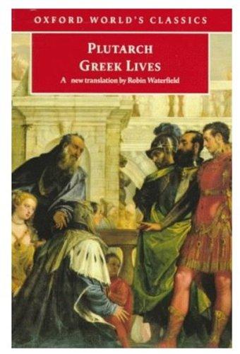 9780192825018: Greek Lives
