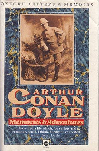 Memories and Adventures (Oxford letters & memoirs): Doyle, Arthur Conan, Sir