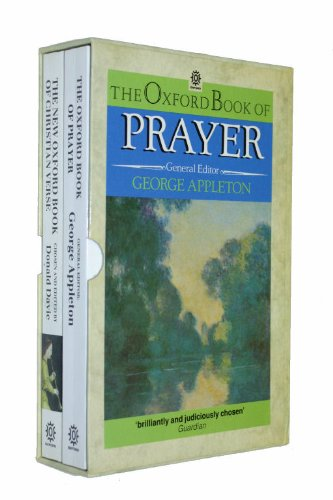 9780192826404: The Oxford book of Prayer, and, The New Oxford Book of Christian Verse (Oxford paperbacks)
