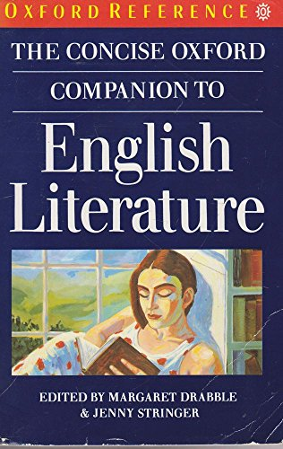 9780192826671: The Concise Oxford Companion to English Literature