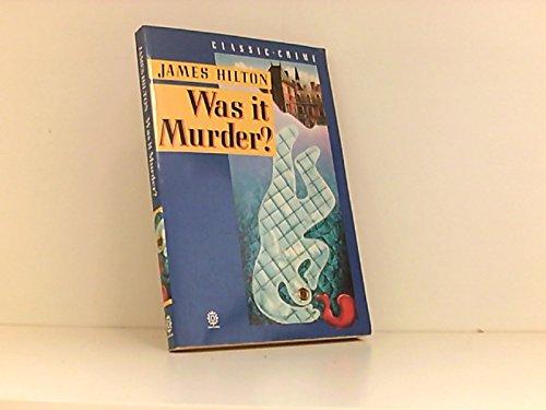 9780192826718: Was it Murder? (Oxford paperbacks)