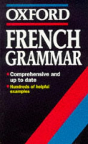 9780192828941: French Grammar (Oxford Quick Reference)