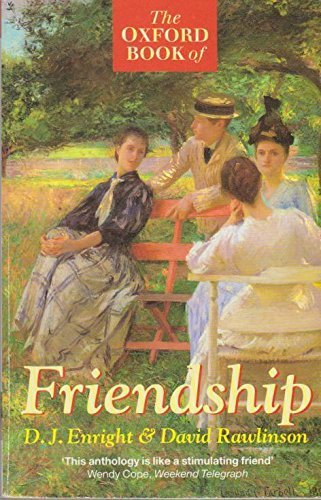 9780192829672: The Oxford Book of Friendship