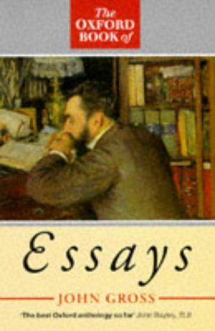 9780192829702: The Oxford Book of Essays