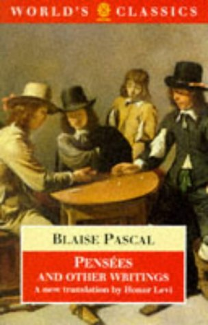 9780192829900: Pensees (World's Classics)