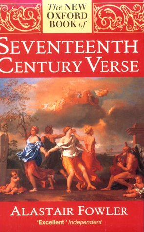 9780192829962: The New Oxford Book of Seventeenth-century Verse