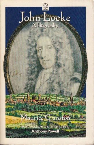 9780192830449: John Locke: A Biography (Oxford Paperbacks)