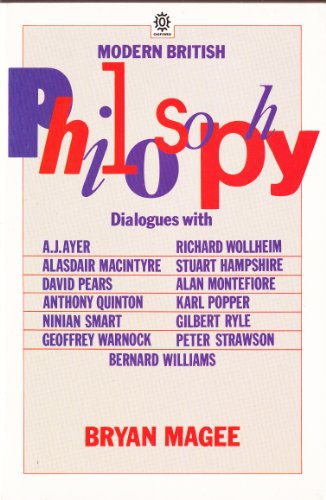 9780192830470: Modern British Philosophy (Oxford Paperbacks)