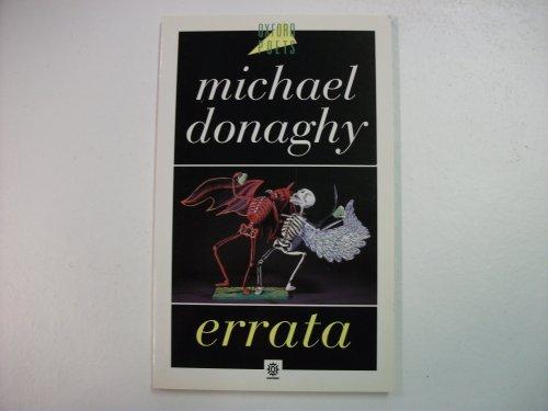 Errata: Donaghy, Michael