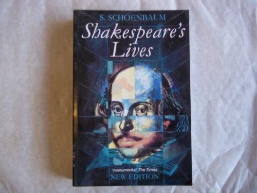 Shakespeare's Lives: Schoenbaum, S.
