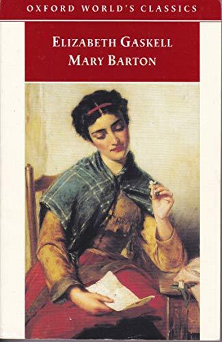 9780192835109: Mary Barton (Oxford World's Classics)