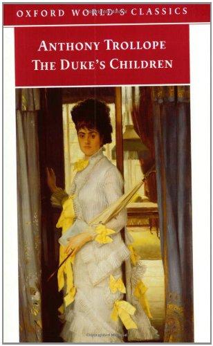 9780192835383: The Duke's Children (Oxford World's Classics)