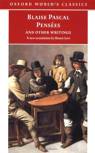 9780192836557: Pensées and Other Writings (Oxford World's Classics)