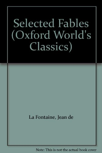 9780192837851: Selected Fables (Oxford World's Classics)