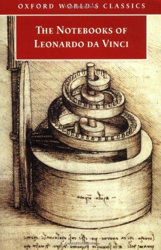 9780192838971: The Notebooks of Leonardo da Vinci: Selections