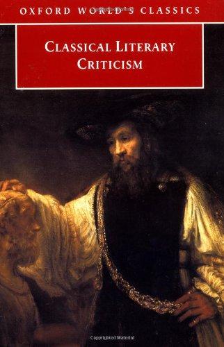 9780192839008: Classical Literary Criticism (Oxford World's Classics)