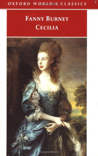 9780192839091: Cecilia, or Memoirs of an Heiress (Oxford World's Classics)