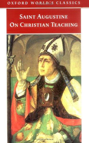 9780192839282: On Christian Teaching (Oxford World's Classics)