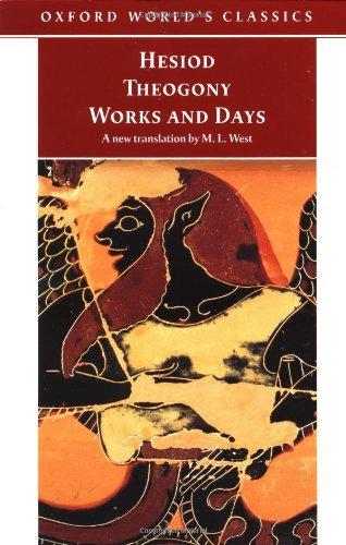 9780192839411: Theogony, Works and Days (Oxford World's Classics)