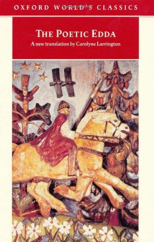 9780192839466: The Poetic Edda (Oxford World's Classics)