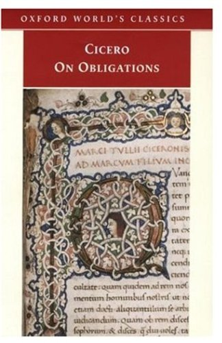 9780192839688: On Obligations (Oxford World's Classics)