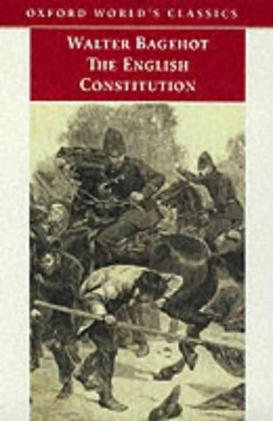 9780192839756: The English Constitution (Oxford World's Classics)