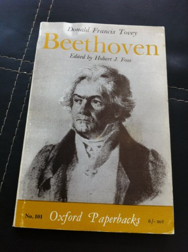 Beethoven (Oxford Paperbacks): Tovey, Sir Donald