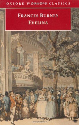 9780192840318: Evelina (Oxford World's Classics)