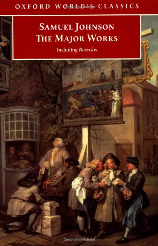 9780192840424: Samuel Johnson: The Major Works (Oxford World's Classics)