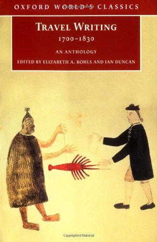 9780192840516: Travel Writing 1700-1830: An Anthology (Oxford World's Classics)